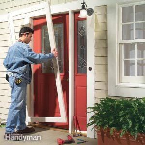 How to Install a Storm Door and Storm Door Replacement