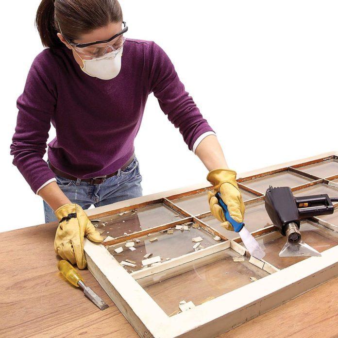 How to Glaze a Window (Single Pane)