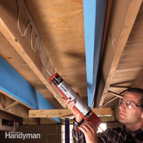 How To Make Structural Repairs By Sistering Floor Joists