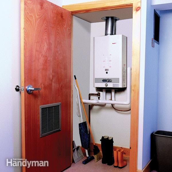 the pros and cons of tankless water heaters | the family handyman