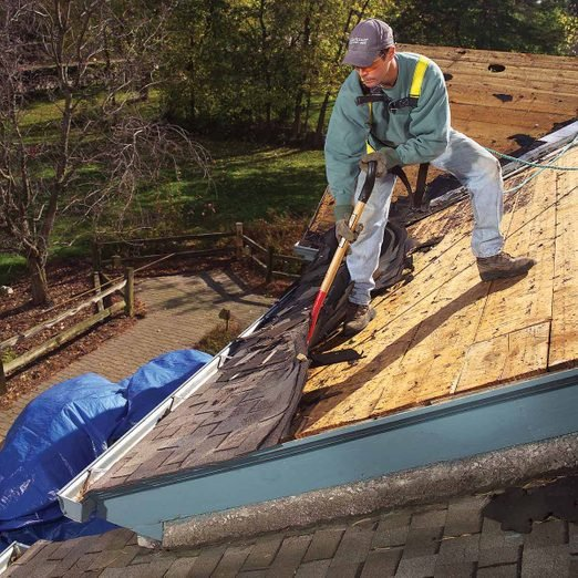 How To Tear Off Roof Shingles roofing tear off tools