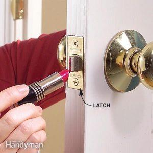 Door Lock Latch: How to Fix a Door That Won't Close