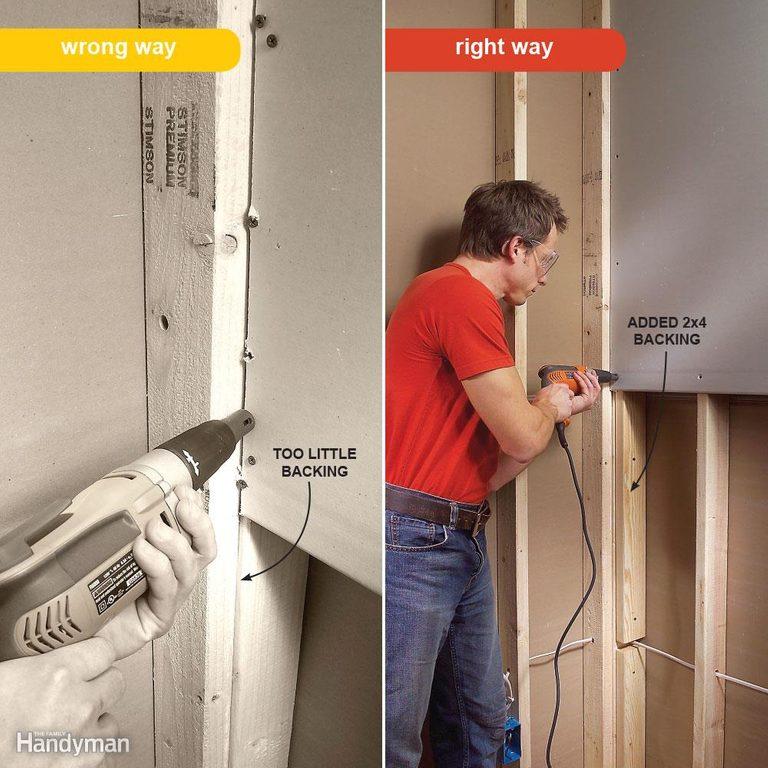 drywall mistakes