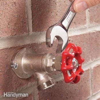 How to Repair a Noisy Outdoor Faucet