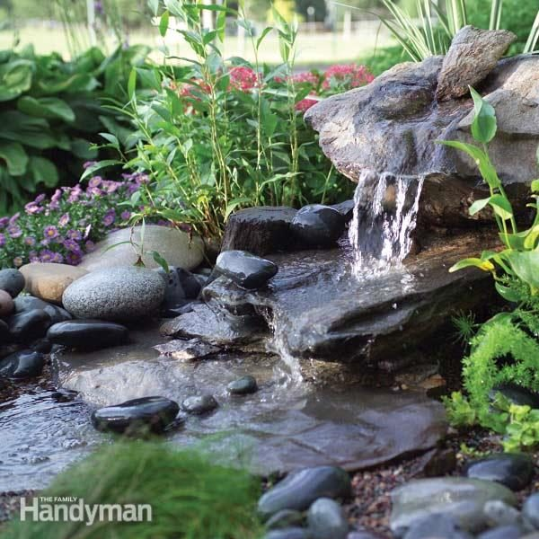 backyard water feature how to build a low maintenance water feature the family
