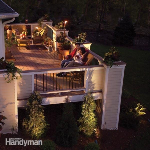 Illuminate Your Deck With Low Voltage Light Fixtures The
