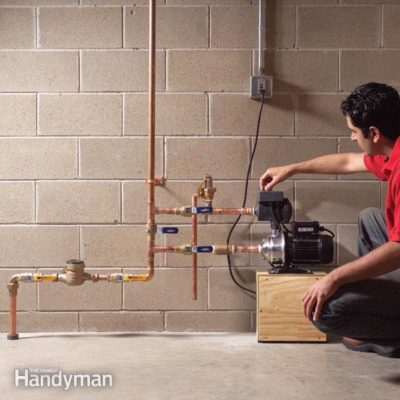 How to increase water pressure water pressure valve no water in house