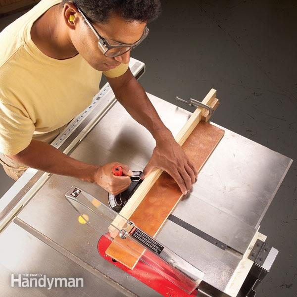 How To Use A Table Saw Cross Cutting