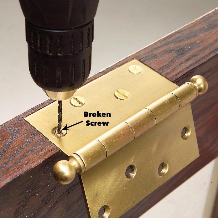 broken screw extraction