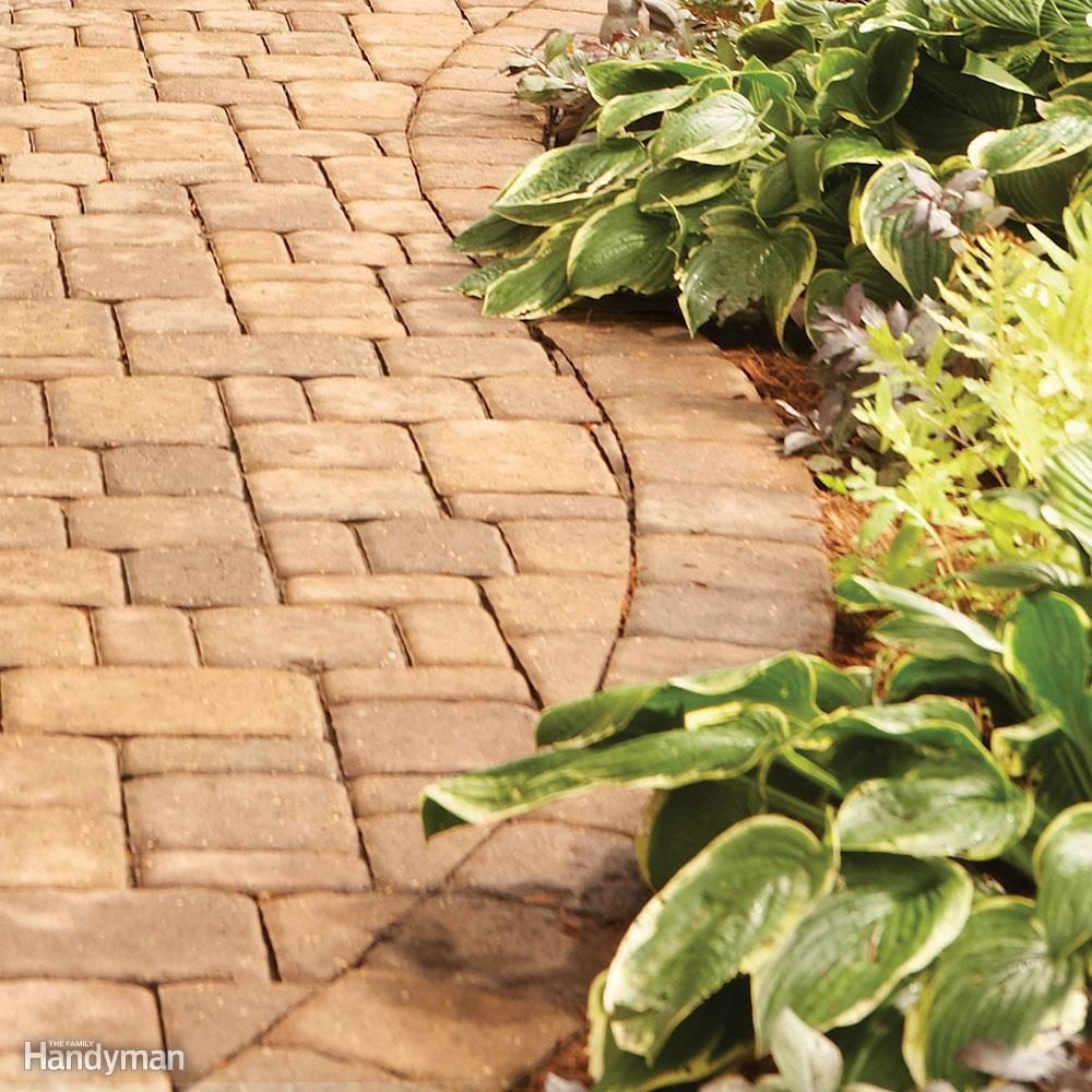 Landscaping: Garden Edging: Garden Paths | The Family Handyman