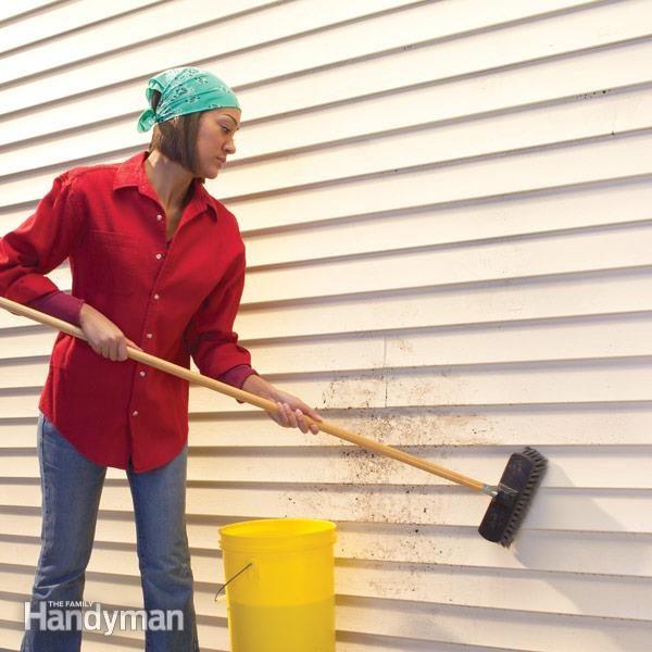 vinyl siding cleaning the family handyman