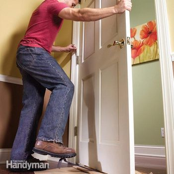 How to Remove a Door