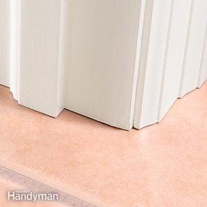 Entryway Floor Tile Installation