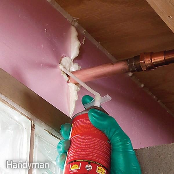 Cut heat loss through the rim joists and tighten up your house with rigid foam insulation. & Insulate Basement Rim Joists | The Family Handyman