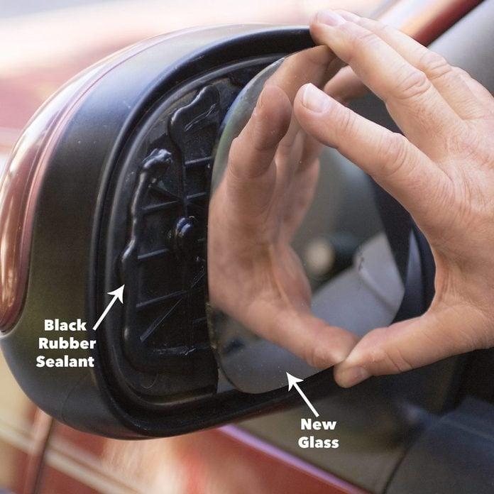 apply sealant broken review mirror