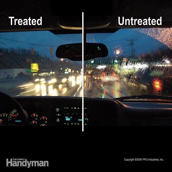 Safer Driving with a Windshield Coating