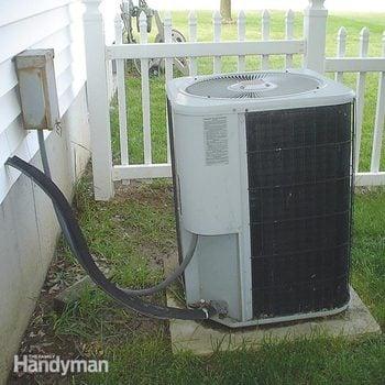 concrete air conditioner pad