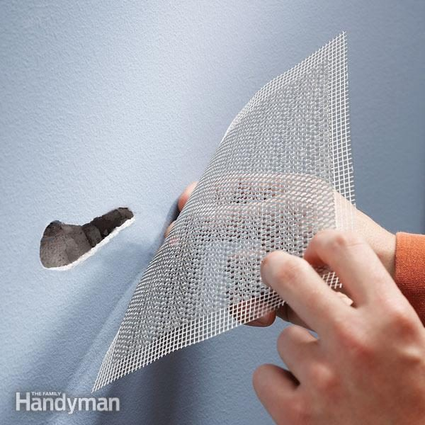 Use Aluminum Mesh For Fast Drywall Repair The Family