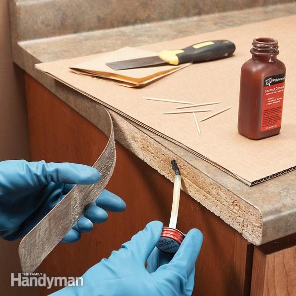 Laminate Repair Tips: Reglue Loose Laminate