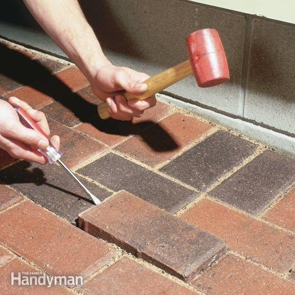 Raising Patio Pavers Family Handyman