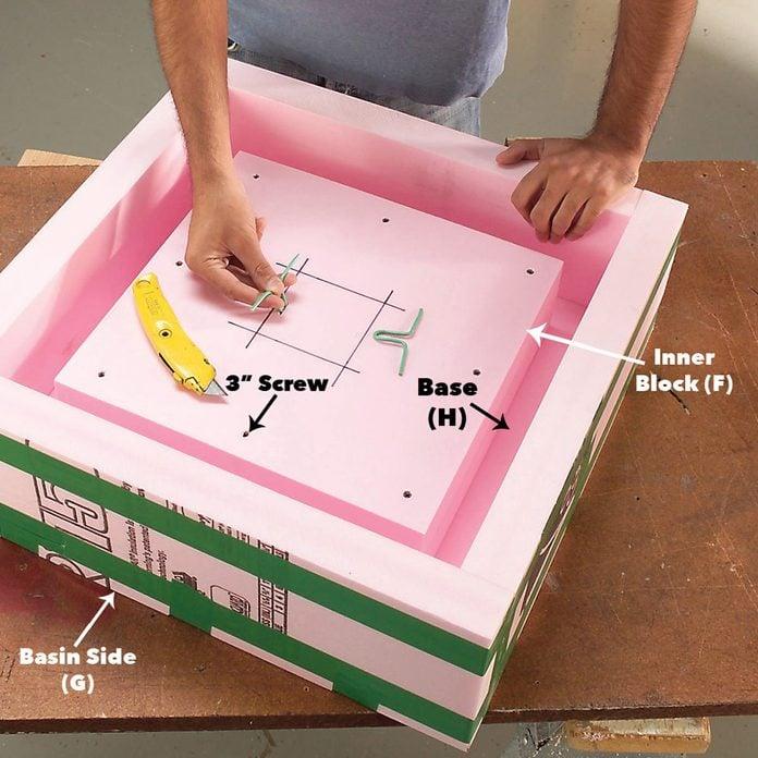 assemble basin
