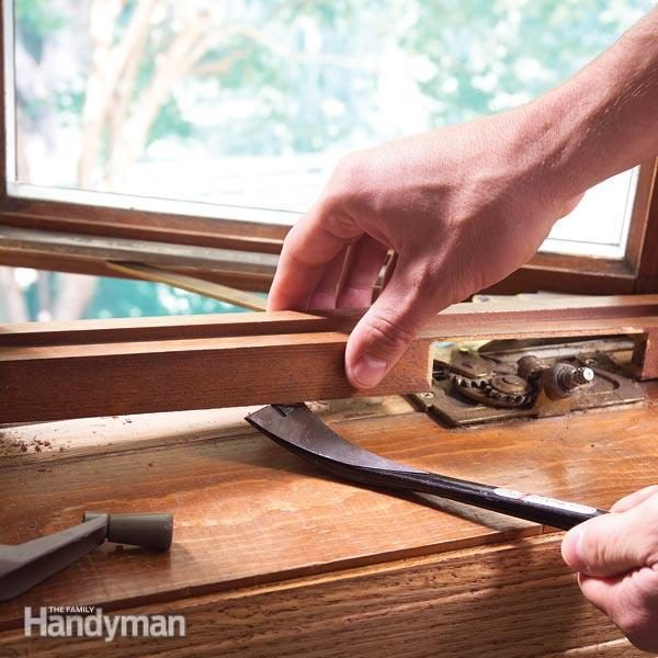 Restore old windows with new stain and varnish & Restore Old Windows and Doors: Revive the Finish | Family Handyman