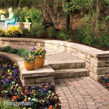 How to Build a Stone Path and Steps