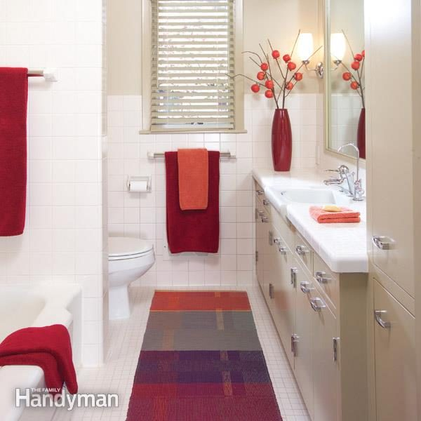 Renovate A 48s Bathroom The Family Handyman Fascinating Bathroom Plumbing Installation Remodelling