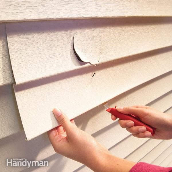 How To Replace Vinyl Siding The Family Handyman