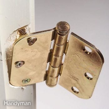 How to Fix Hinge Screws