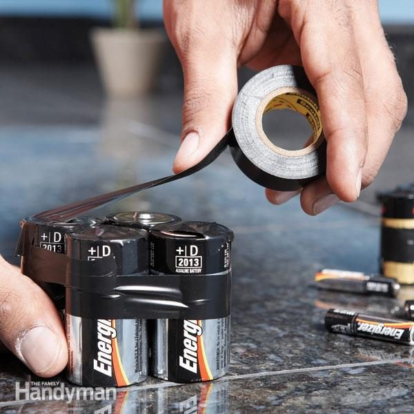 Failsafe Ways To Dispose Of Old Batteries Tape Exposed Contacts Prevent Discharge Or Recycle Them
