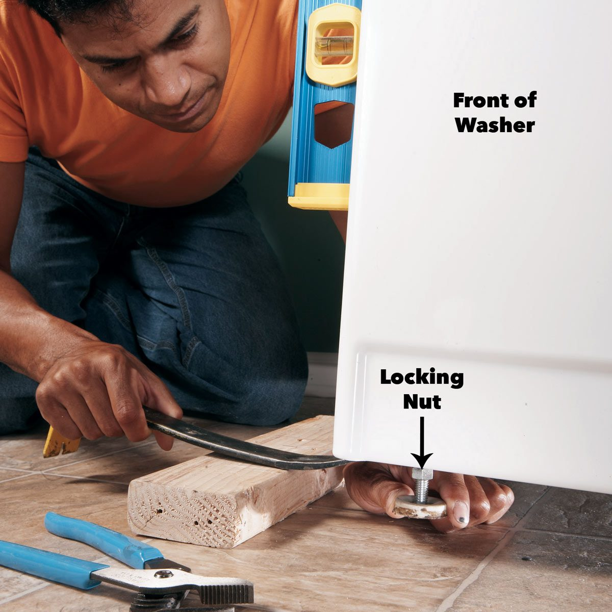 stop washing machine vibration
