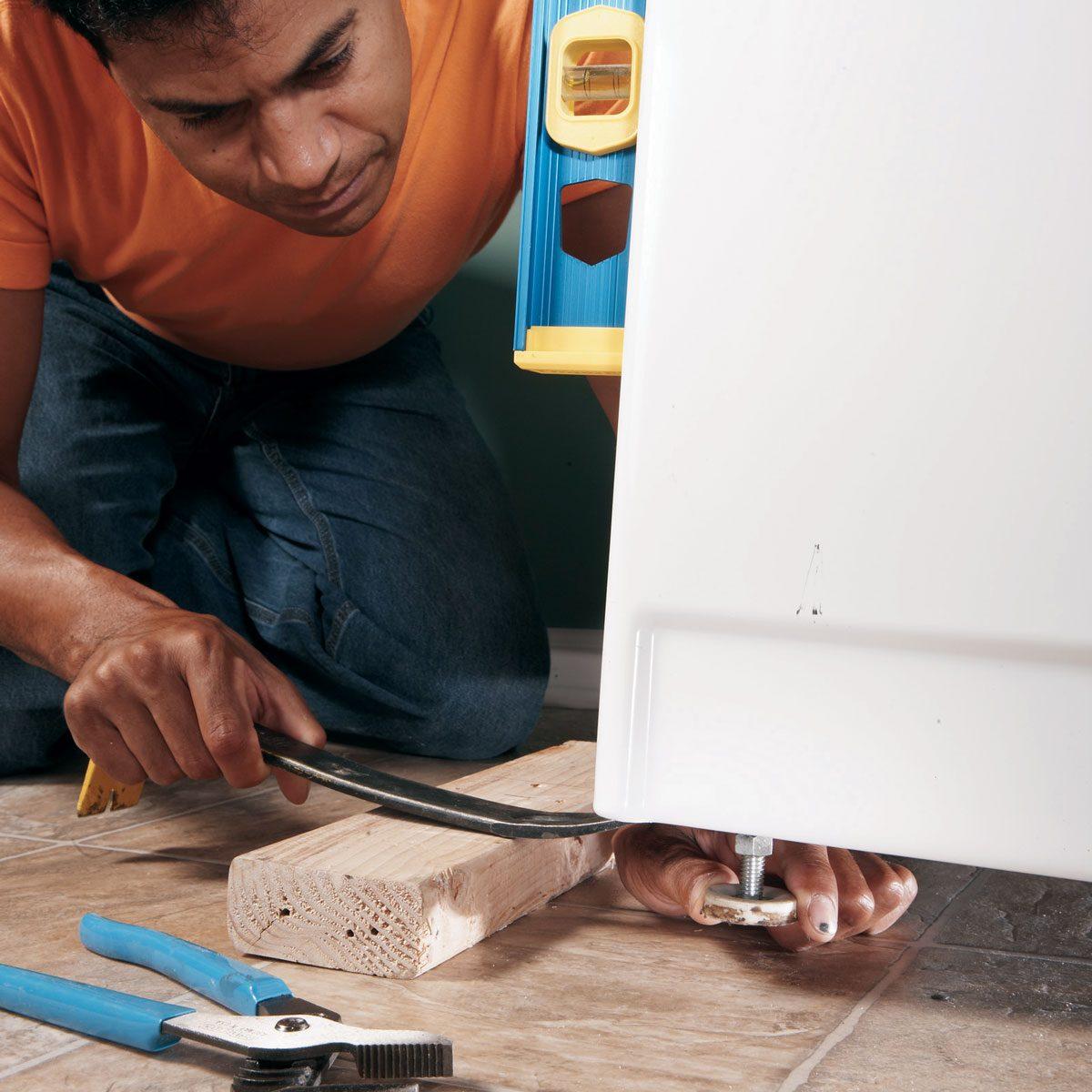 fix a vibrating washing machine how to balance a washing machine washer shaking