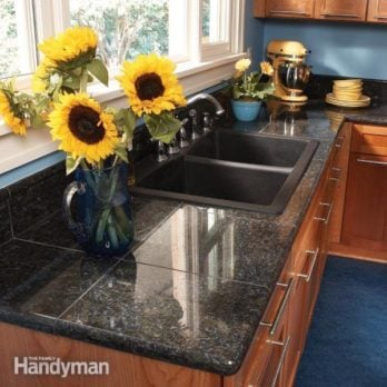 Charmant Granite Countertops: How To Install Granite Tile
