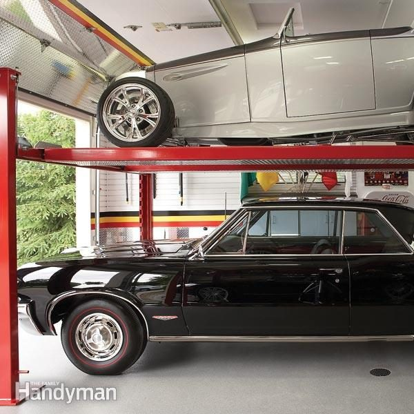 Dream Garage Double Decker Car Storage The Family Handyman