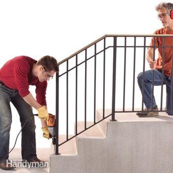FH07SEP_INSRAI_01-2 handrails for concrete steps outdoor railings for steps outdoor railings for steps, outside railings for steps, front step railing