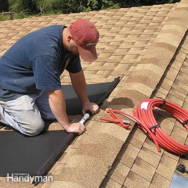 How To Install A Diy Solar Water Heater The Family Handyman