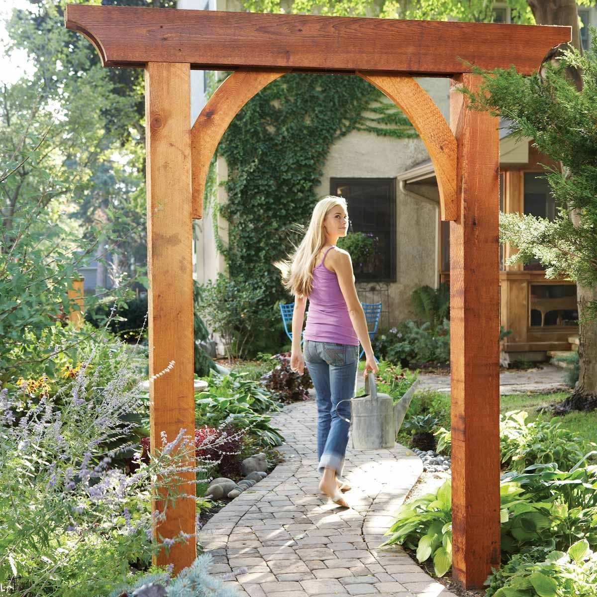 Admirable 10 Awesome Garden Arbor And Trellis Projects The Family Pdpeps Interior Chair Design Pdpepsorg