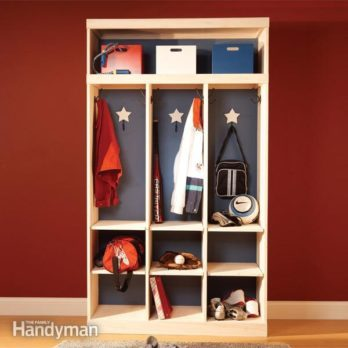 Entryway Storage Locker and Organizer