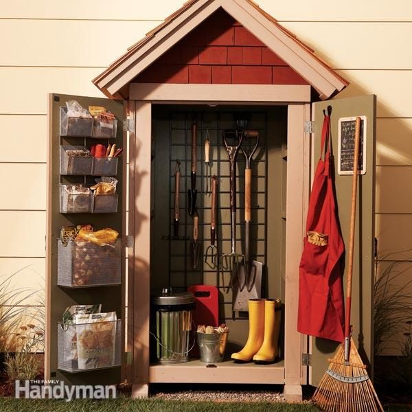 Beautiful This Compact Outdoor Closet Fits In A Small Yard And Yet Holds A Ton Of  Stuff.