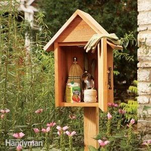 Build a Garden Storage Box