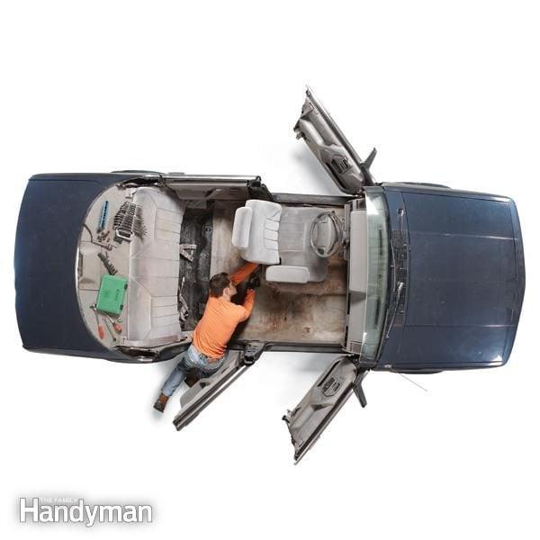 Install New Car Carpet The Family Handyman