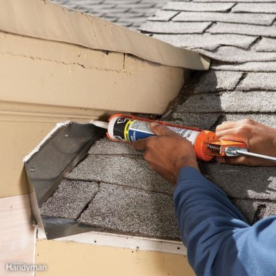 Leaky roof roofing repair