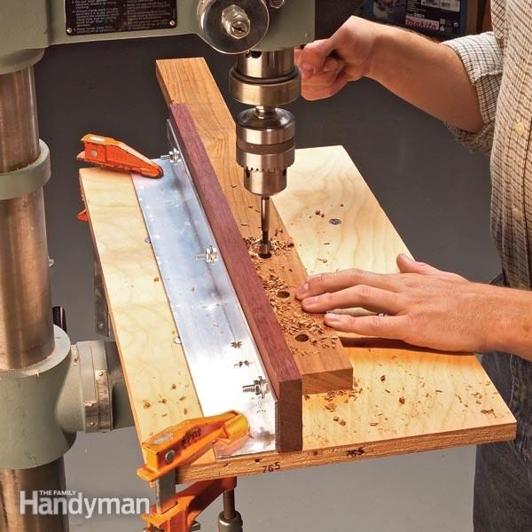 The Best Drill Press Jigs The Family Handyman