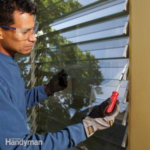 How to Repair Jalousie Windows