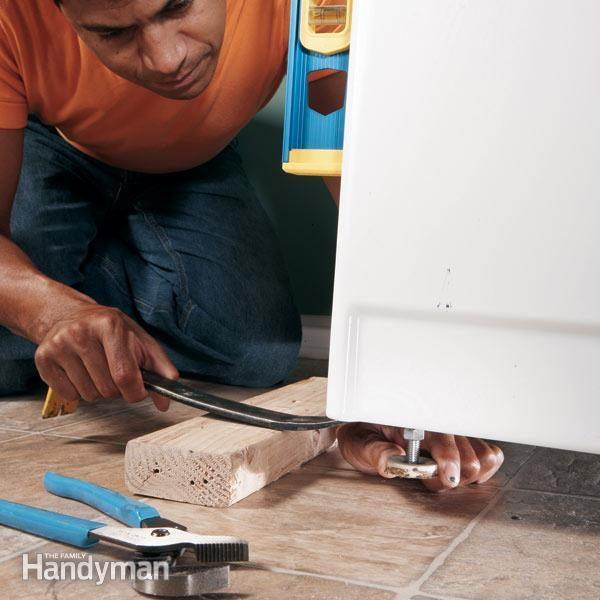 Stop Washing Machine Vibration The Family Handyman