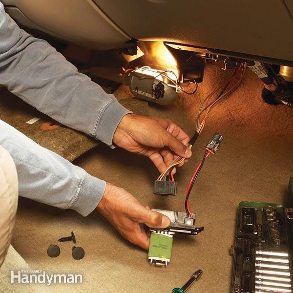 Car Heater Repair Tips: Fixing a Blower Motor | Family Handyman
