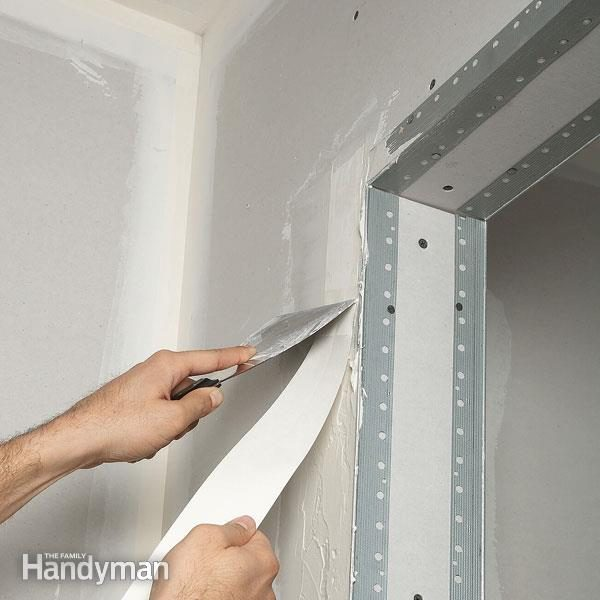 Best Drywall Tape : Drywall taping tips the family handyman