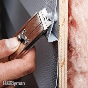 Siding Repair: Holes in Aluminum and Vinyl