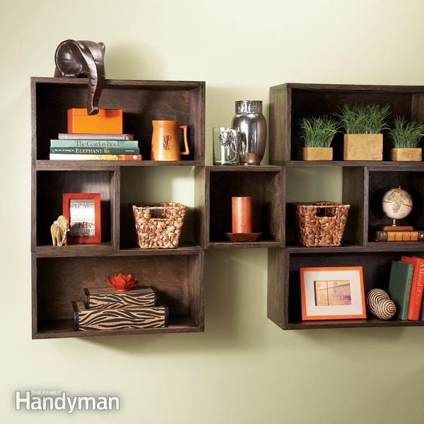 Box Diy Shelves The Family Handyman
